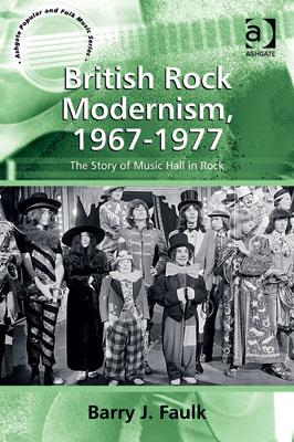 British Rock Modernism, 1967-1977 cover