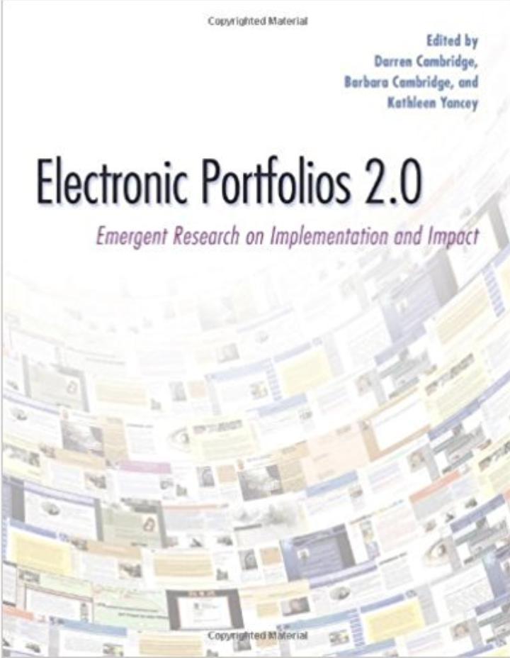 electronic portfolios 2.0